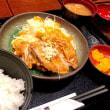 【日替定食】豚竜田揚ネギソースを頂きました。 at ニユートーキヨー庄屋 新青山ビル店