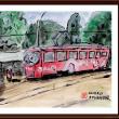 ベラルーシ・ウクライナ・モルドバ旅行シリーズ (32)オデッサのトラム