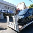 鈑金修理を承りましたお客様の愛車は大事に積載車で回送致します!