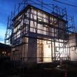 いすみ市大原『 なんとなく中庭みたいなHOUSE 』⌂Made in 外房の家。は、引き続き大工工事順調進行中にて、サッシ設置完了!しました。