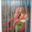 第30回全国絵画公募展IZUBI 出品作品「穴まどひ」