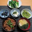 絶品牛丼・・・380円。 炊屋食堂の名物定食  夏 !