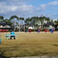 岐阜県リーグ1部 NK可児 vs テクノ渡辺の試合を観戦する。