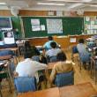 1月15日石神井台小学校のクラブ活動の風景。