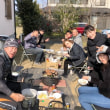 陣屋太鼓 牡蠣焼き会