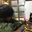 黒猫ジジィは 椅子の上で寝ることもあります