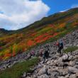 紅葉真っ盛りのトムラウシ山へ