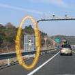 レーザー式?ループコイル型の新設オービスが第二阪和国道に登場