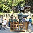 故郷を思い創建 遥かに岡崎を望む「神廟」
