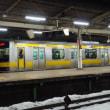 2018年1月24日,今朝の中央総武緩行線 E231-0番台