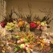 秋シーズン向き アートフラワー(造花)の装飾参考画像