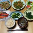 今日の朝食(8月20日)炊き込みご飯