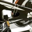 スピンバイクに激安(2,200円)スピード・ケイデンスセンサーを取り付け