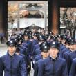 防衛大学で学ぶ学生(実は、公務員)が揃って、靖国参拝?