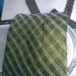 ネクタイについた焼肉のたれのしみぬきです!