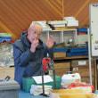 チェーンソー、草刈り機の整備講習