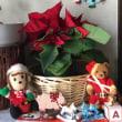 懐かしいAir mailとクリスマス飾り