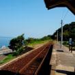 海に一番近い駅 下灘駅