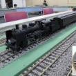 渋い客車編成の鉄道模型