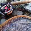 初釣りは、古き良きものと新しき良きもので