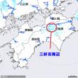 平成29年9月18日・03:00の雨の様子 (東祖谷のお天気は・・・)