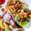 デパ地下総菜のお肉とイタリアン
