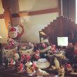 11月のタウンカフェさんの花cafe♫