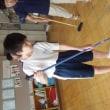 中学部1年生 大掃除