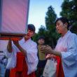 台風5号が心配な平成29年のぼんぼり祭 夏越祭  鶴岡八幡宮