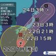 【台風21号】本州に接近 大雨警戒