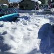 大雪の新潟へ