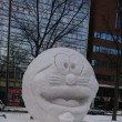 市民雪像の会場です