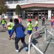 なわとび集会とサッカー教室