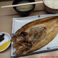札幌 二条市場でホッケを食べ、さらにサンマも食べる