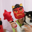 今月の社会化は【節分】 犬のしつけ教室@アロハドギー