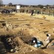 <平城宮> 東院地区から大型の井戸と覆屋付きの2本の溝跡