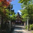 続いて伊夜日子神社へ。