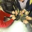 鹿嶋市豊郷まちづくりセンターで「みつろうハンドクリーム」のワークショップを行いました