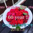 Happy Birthday for chageさん