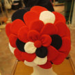 赤いお花のベレー~Shokoの新作