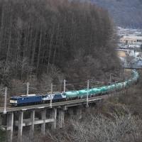 12月7日撮影 西線貨物6883レより その1