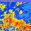 台風18号は、列島を横断して東北へ