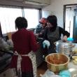 地元の自治会で「餅つき大会」