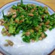 おばさんの料理教室No.2828 ヨメ菜(嫁菜)の混ぜご飯