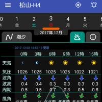20171203(日)大潮 松山市・今出 夜釣り