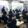 3年生が岩永憲一良先生から習う最後の・・3年生の川柳教室がありました。