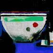 瑞々しい色を楽しむ「ガラス絵」を描く