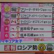 フィギュア女子~テレビ速報より