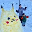 雪だるまコンテストNo.16