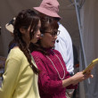 2018DEJIMA博  ひるじげどんレポーター・石本 愛と三浦実緒  2018・5・5